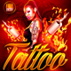 Tattoo Party Flyer