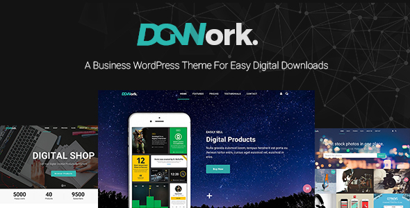 DGWork - Business Theme For Easy Digital Downloads - Business Corporate