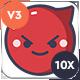 Animated Emojis V3 - VideoHive Item for Sale