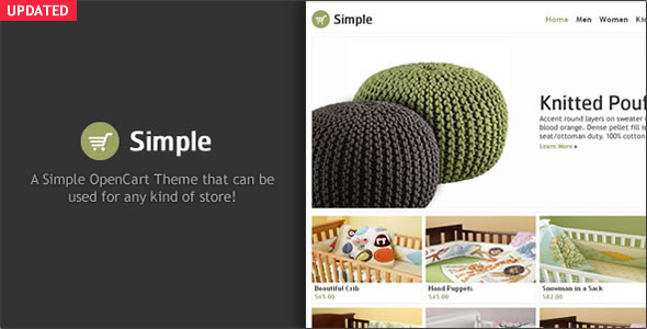 Simple – OpenCart Theme