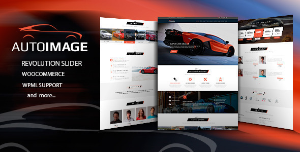 Auto Image - WordPress Car Dealer theme - WordPress