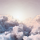 Flying Through Bright Clouds - VideoHive Item for Sale