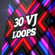 Colorful Neon Lamps VJ Pack - VideoHive Item for Sale