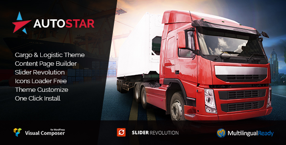 Autostar - Transport & Logistics WordPress