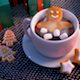 Gingerbread Man And Hot Chocolate - VideoHive Item for Sale