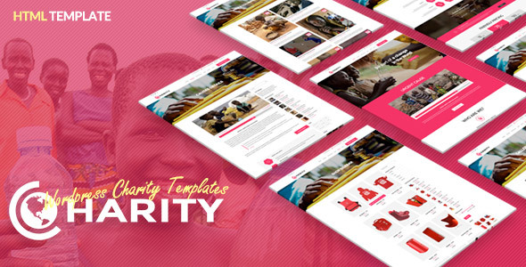 Charity HTML Template – Responsive Website Template