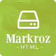 Markroz - Multi-purpose Responsive Bootstrap Template - ThemeForest Item for Sale