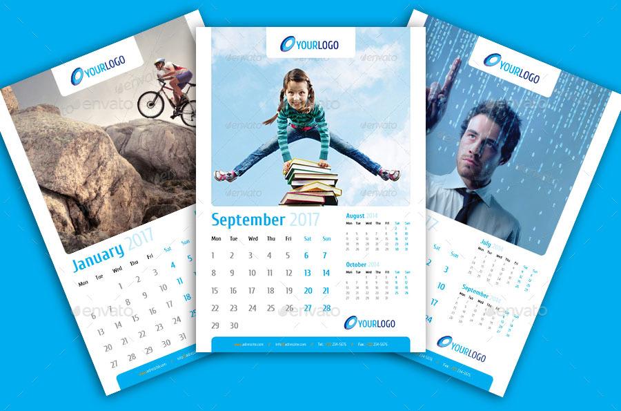 calendar 2017 a3 by vostok17 graphicriver
