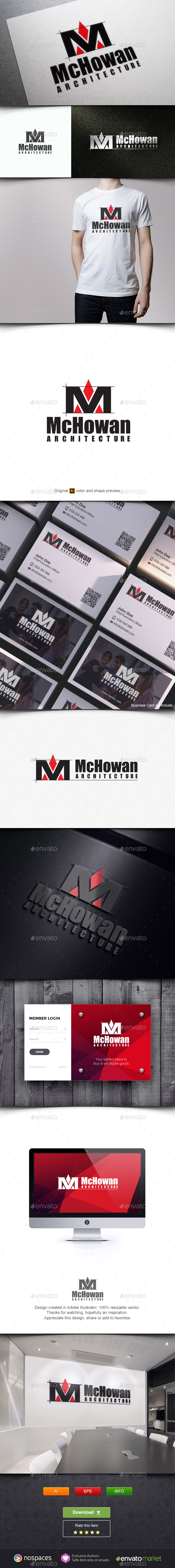 MA Architects - Buildings Logo Templates