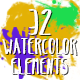 32 Paint Elements Pack - VideoHive Item for Sale