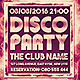 Disco Party Event Flyer - GraphicRiver Item for Sale