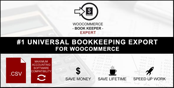 WooCommerce Book Keeper Expert - CodeCanyon Item for Sale