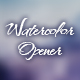 Watercolor Opener. - VideoHive Item for Sale