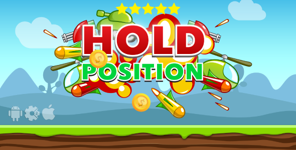 Hold Position - HTML5 Game + Mobile. Construct 2 (capx) + Cocoon ADS - CodeCanyon Item for Sale