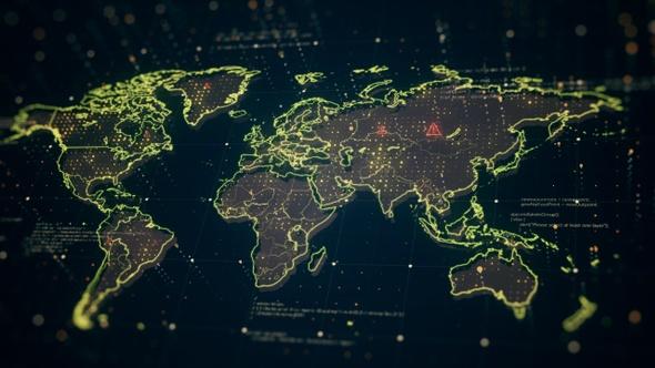 World Map Danger Gold Light 4K on 2d world map, 8k world map, 16k world map, high resolution world map, ontario world map, red world map, 4d world map, alabama world map, 1080p world map,