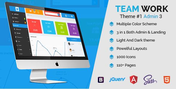 Teamwork – Responsive Angular Admin App
