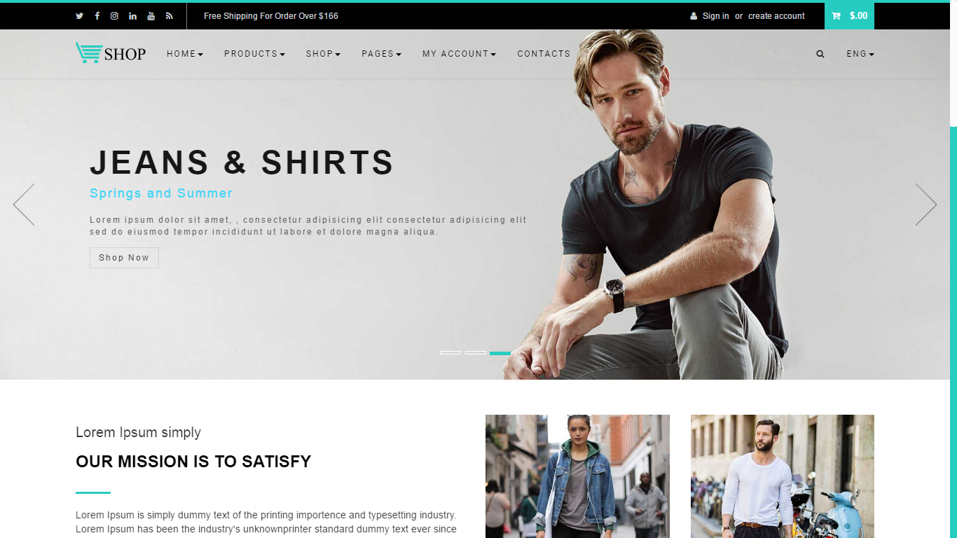JL Store Multipurpose Responsive eCommerce HTML5 Template by ...