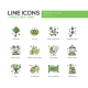 Chinese New Year - Line Design Icons Set - GraphicRiver Item for Sale