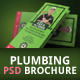 Plumbing Brochure Design - GraphicRiver Item for Sale