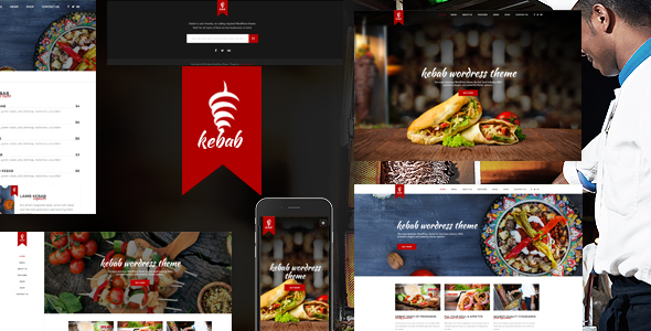 Kebab – Restaurant, Fast Food WordPress Theme