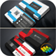Corporate Business Card Bundle (2 in 1) - GraphicRiver Item for Sale