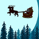 Santa Claus Drives the Sled In The Sky - VideoHive Item for Sale