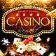 Casino Royale Flyer Plus FB Cover - GraphicRiver Item for Sale