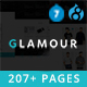 Glamour - Multipurpose OnePage & MultiPage Drupal 7 & 8 Theme Nulled