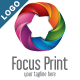 Focus Print - Abstract 3D Star Logo - GraphicRiver Item for Sale