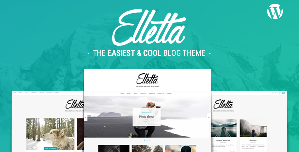 Elletta – Blog News & Magazine Theme WordPress