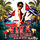 Two Cuban Party Flyers - GraphicRiver Item for Sale