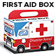 Medical First Aid Emergency Box with Handle - GraphicRiver Item for Sale