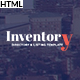 Inventory - Responsive Directory Geolocation & Listings HTML5 Template Nulled