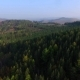 Aerial View Road In The Coniferous Forest On Lake Baikal, Buryatia, Russia - VideoHive Item for Sale