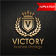 Victory - Heraldic Elegant Logo - GraphicRiver Item for Sale