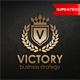 Victory - Heraldic Elegant Logo