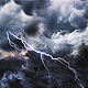 Storm Clouds and Lightning - VideoHive Item for Sale