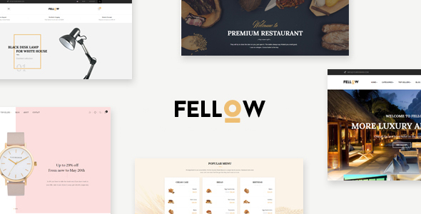 Leo Fellow - eCommerce PSD Template - PSD Templates
