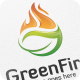 Green Fire - Logo Template - GraphicRiver Item for Sale