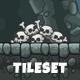 Cartoon Cave Platformer Tileset - GraphicRiver Item for Sale