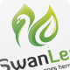 Swan Leaf - Logo Template - GraphicRiver Item for Sale