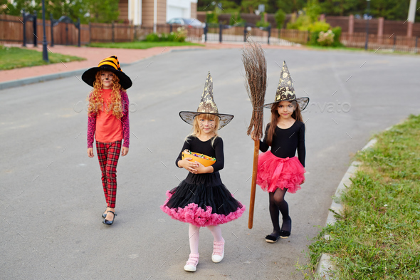 Trick-or-treat tradition - Stock Photo - Images