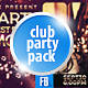 Club & Party Facebook Timeline Covers (3 in 1) - GraphicRiver Item for Sale