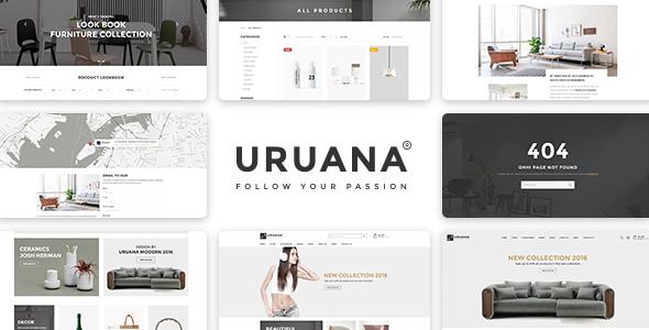 Uruana – Multi Store Responsive HTML Template