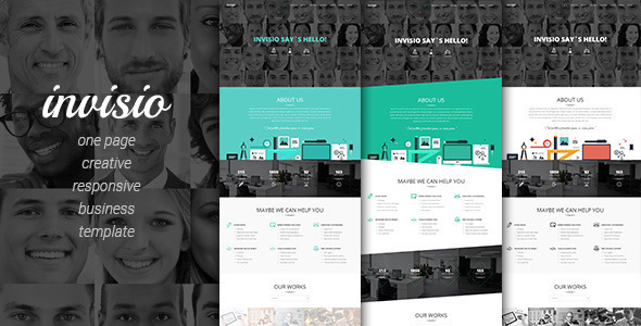 Invisio Business - Creative Onepage Theme