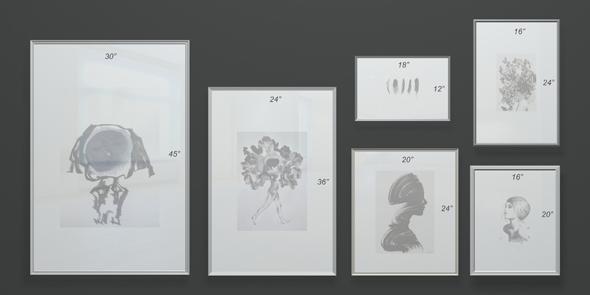 Frames picture_V01 - 3DOcean Item for Sale