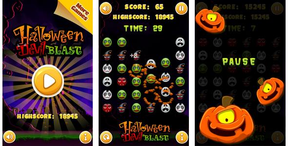 Halloween devil blast - CodeCanyon Item for Sale