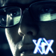 Man In Glasses Surfing Internet At Night - VideoHive Item for Sale