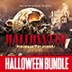 Halloween Bundle | x3 Flyer Templates - GraphicRiver Item for Sale