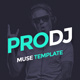 ProDJ - Creative DJ/ Producer Site Muse Template - ThemeForest Item for Sale